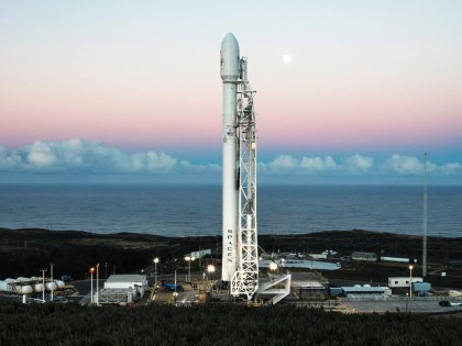 A Falcon 9 will launch two tiny satellites, the first of SpaceX's bid to build a global internet service. SpaceX