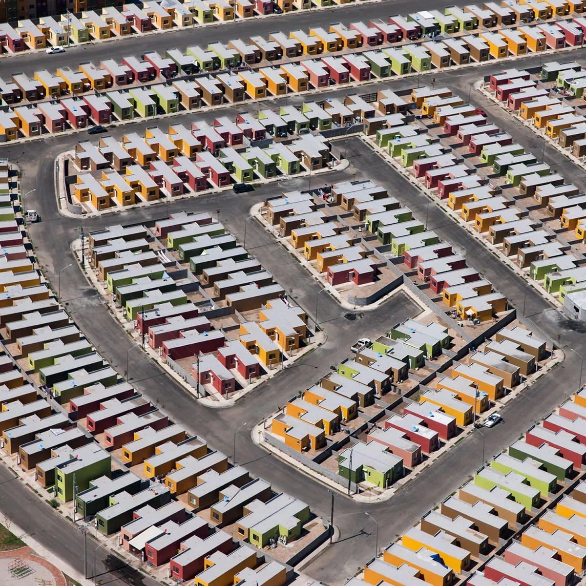 Aerial Views of Mexico's Dystopian Housing Developments