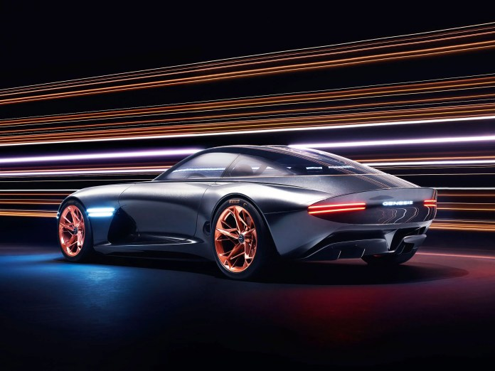 you'll see right through the new genesis essentia concept car   wired