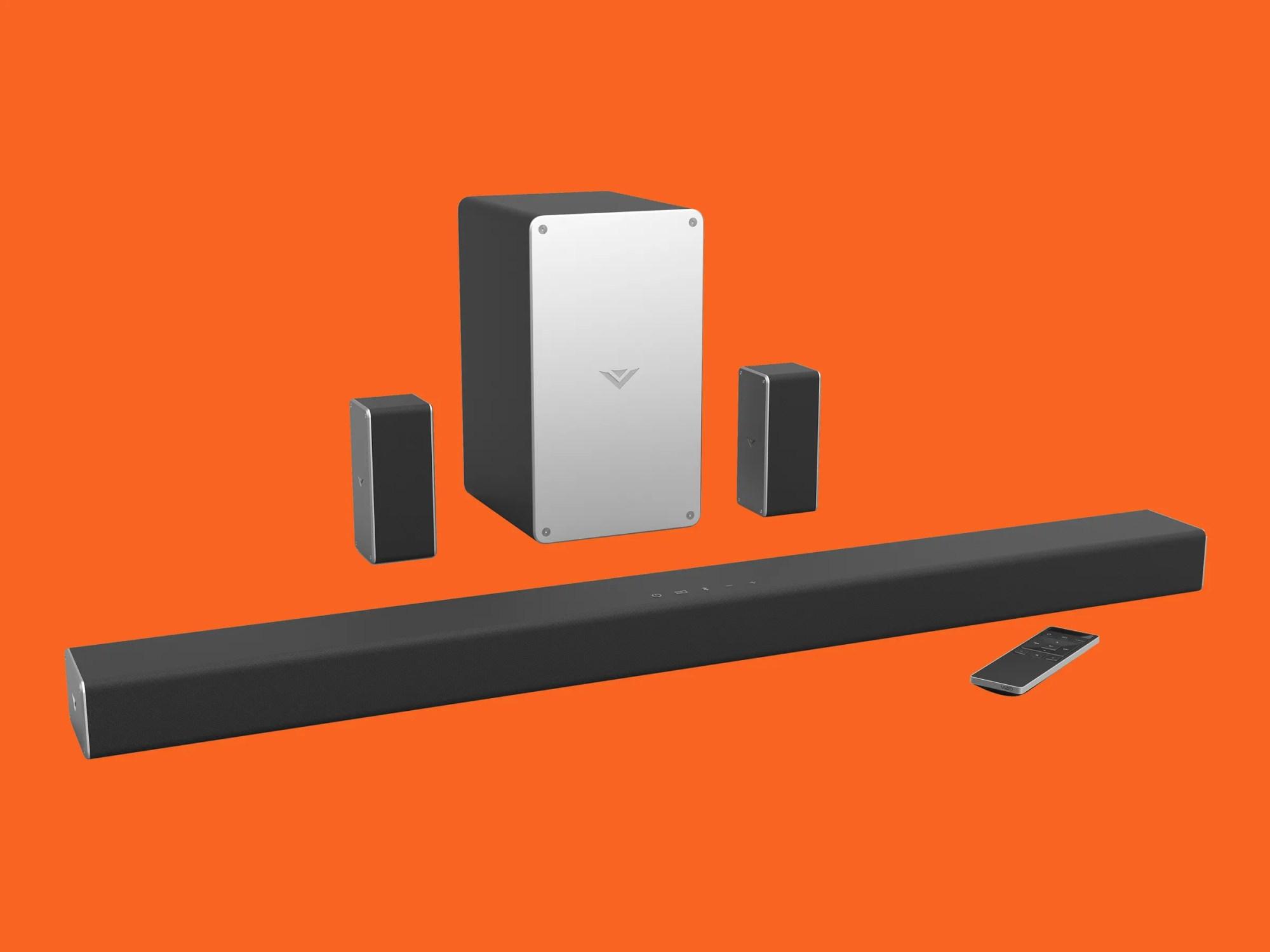 hight resolution of review vizio smartcast soundbar and surround speakers