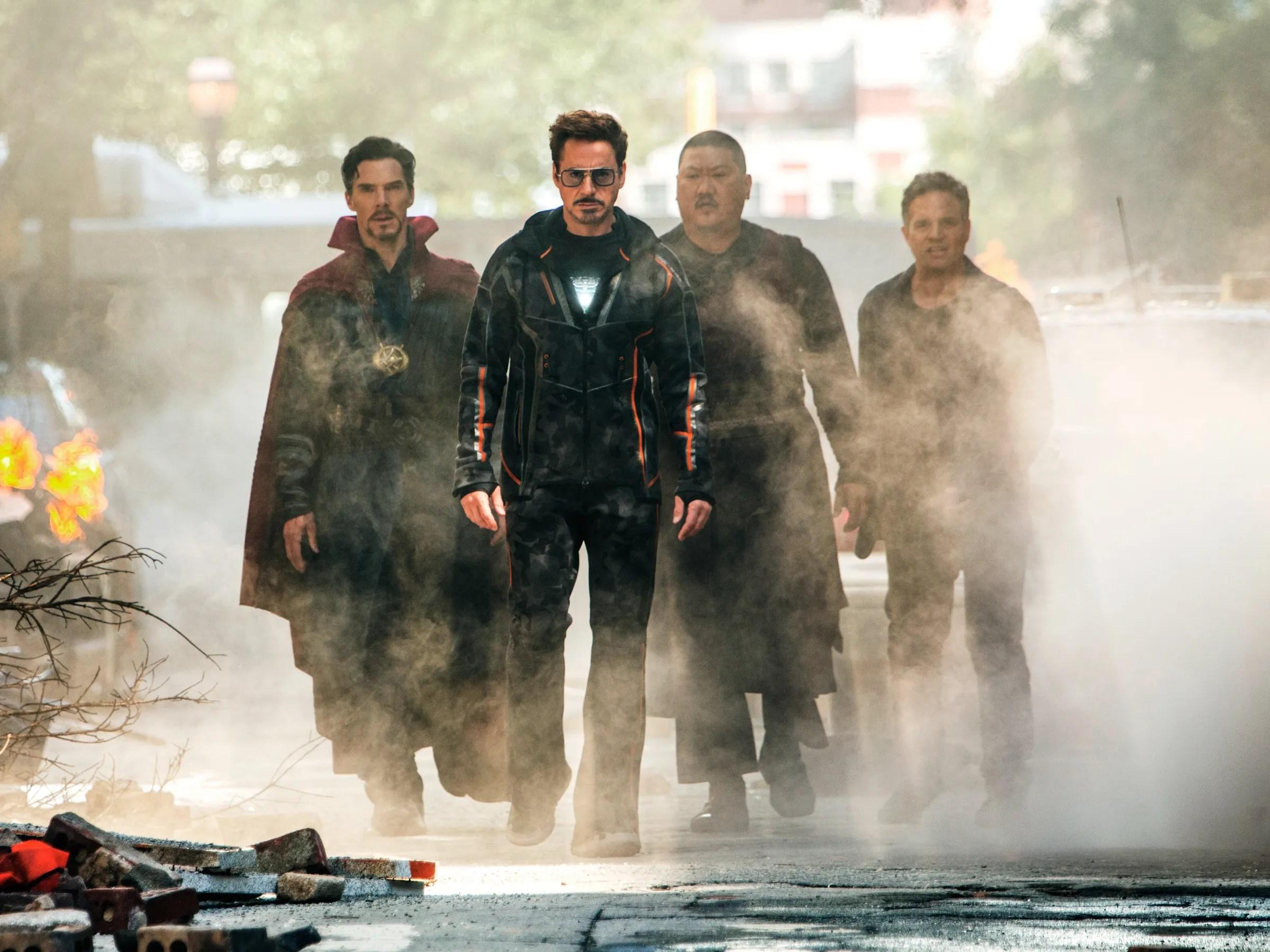 avengers infinity war we