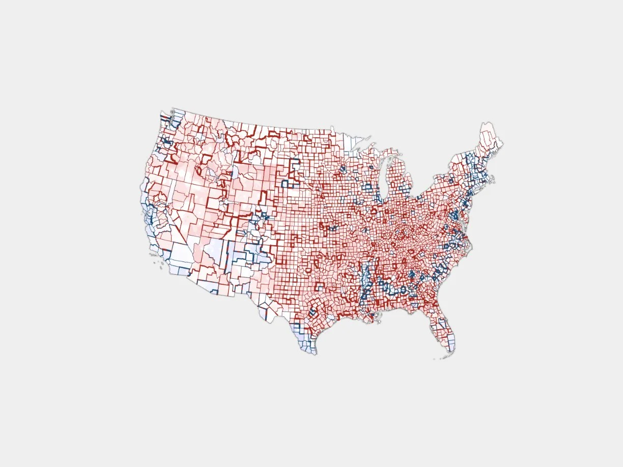 Different Us Election Maps Tell Different Versions Of The Truth Wired