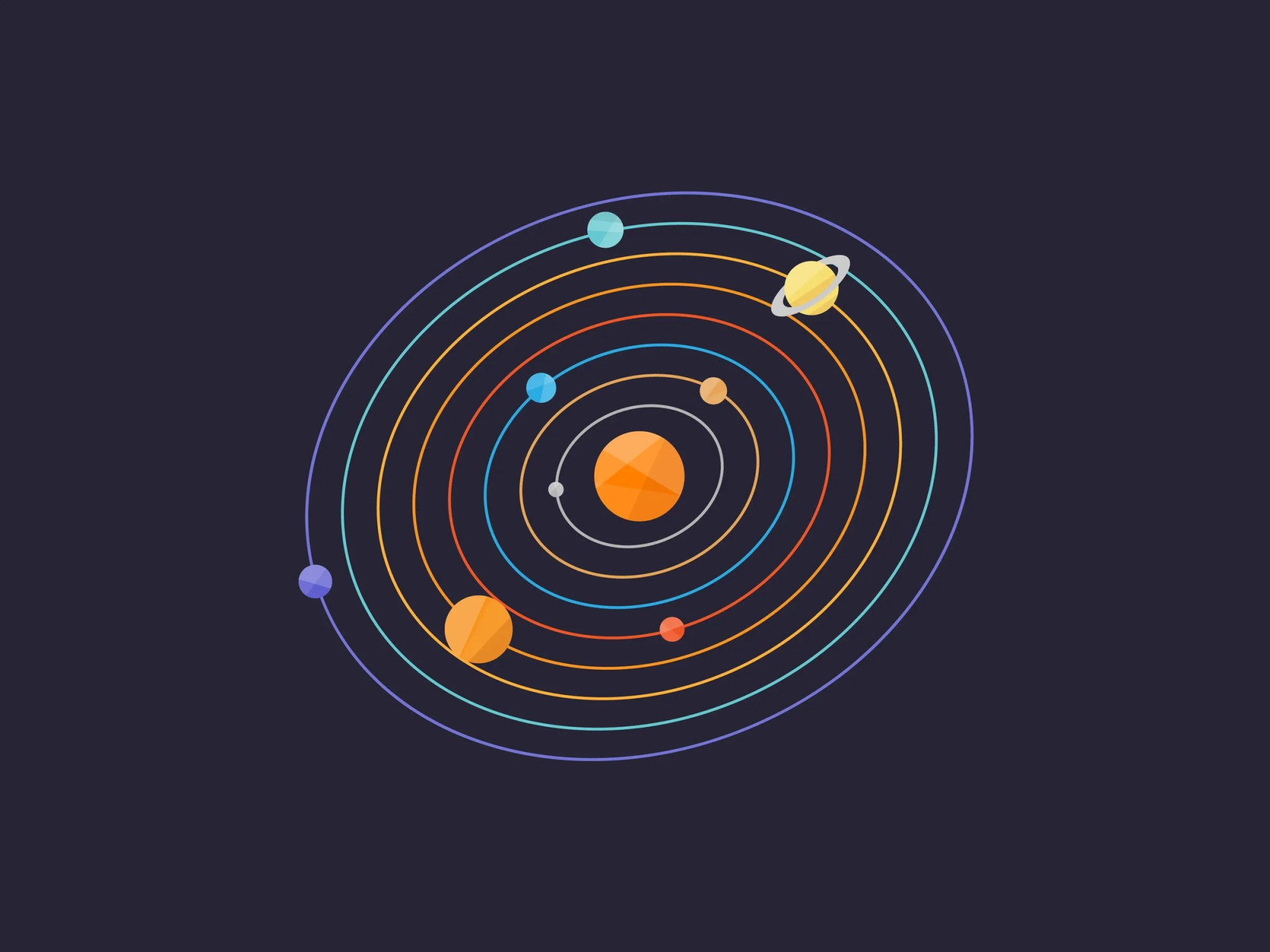 hight resolution of how to show that the earth orbits the sun