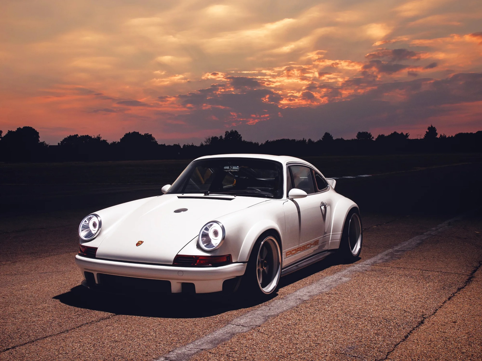 hight resolution of singer s latest creation brings formula 1 know how to the porsche 911