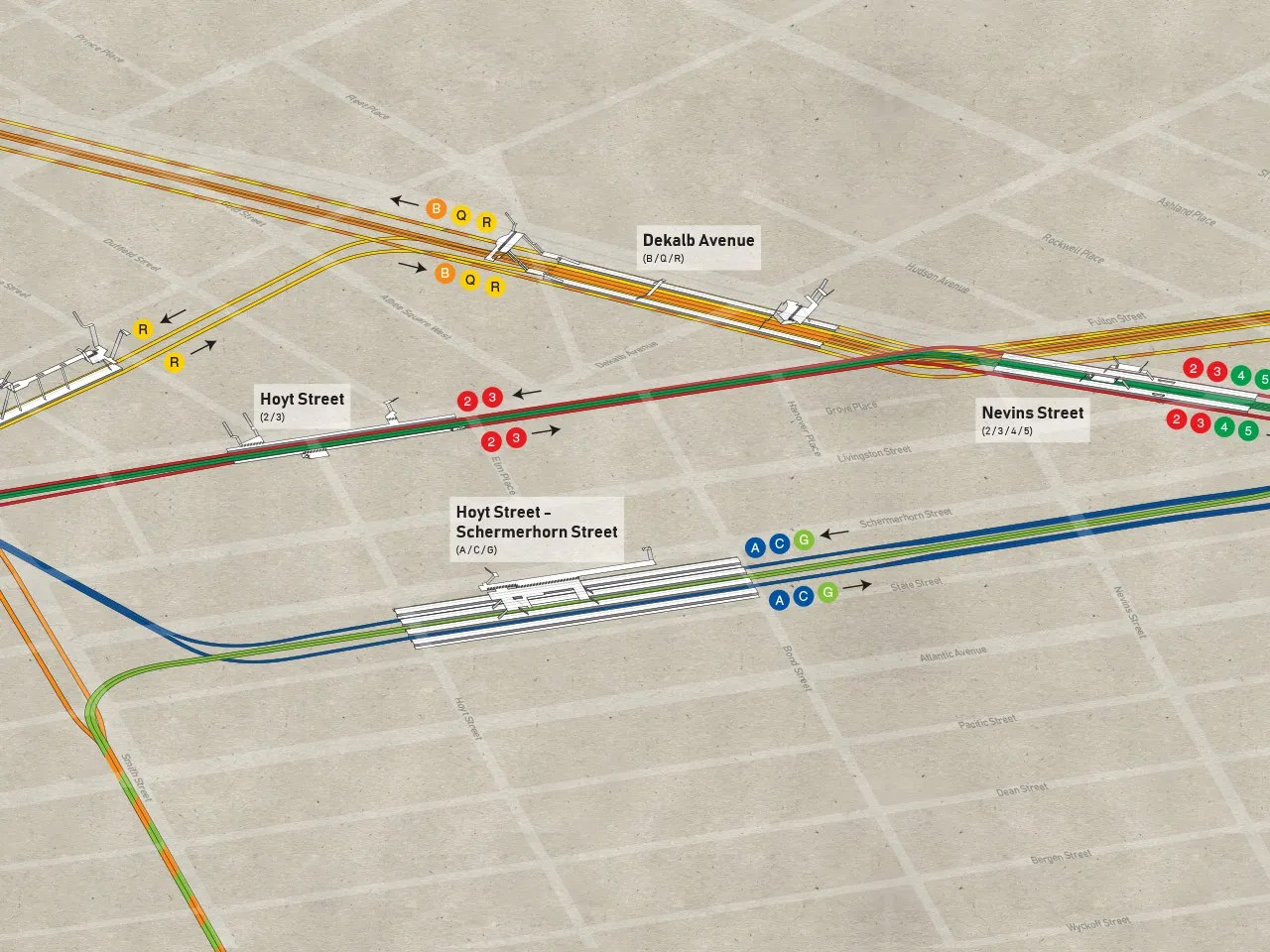 hight resolution of elegant 3 d drawings show nyc subway stations are places too wired