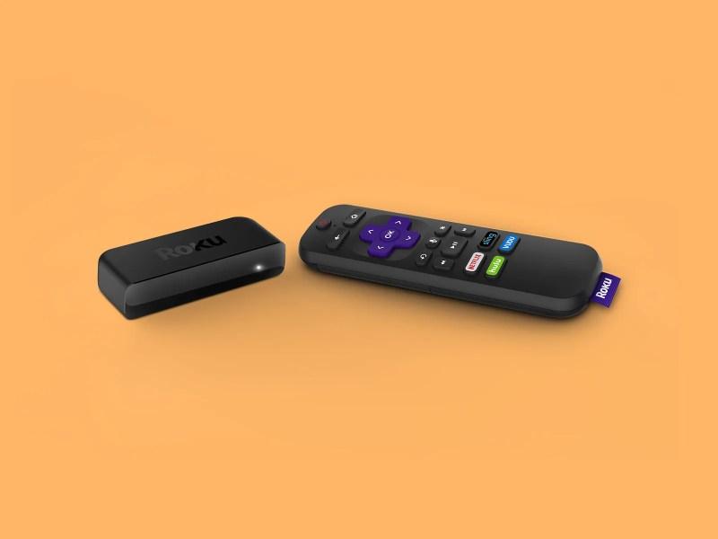 Controller e dispositivo Roku Premiere Plus