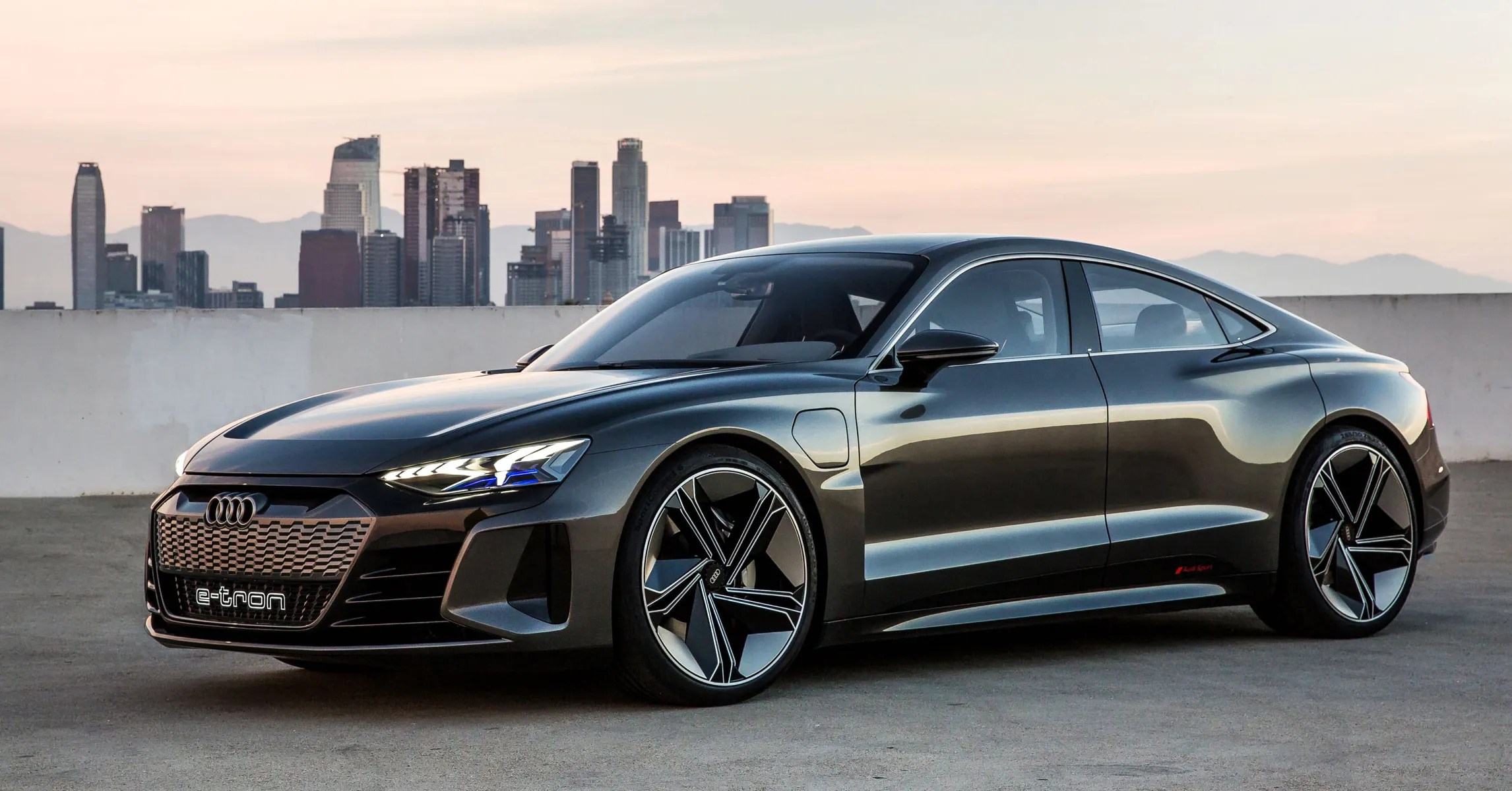 Audi S E Tron Gt Brings Battery Power To A Speedy Svelte