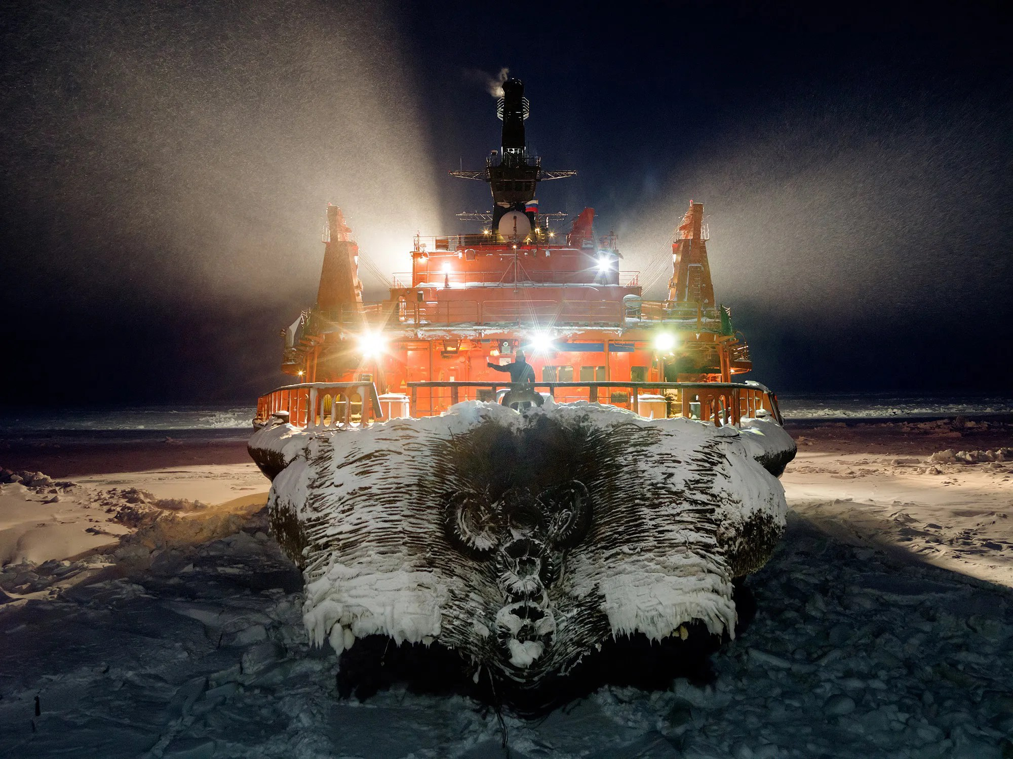 hight resolution of russia s bid to exploit gas under the stunning arctic tundra