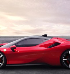 ferrari s latest goes 211 mph with 986 hp and it s a hybrid [ 2400 x 1350 Pixel ]