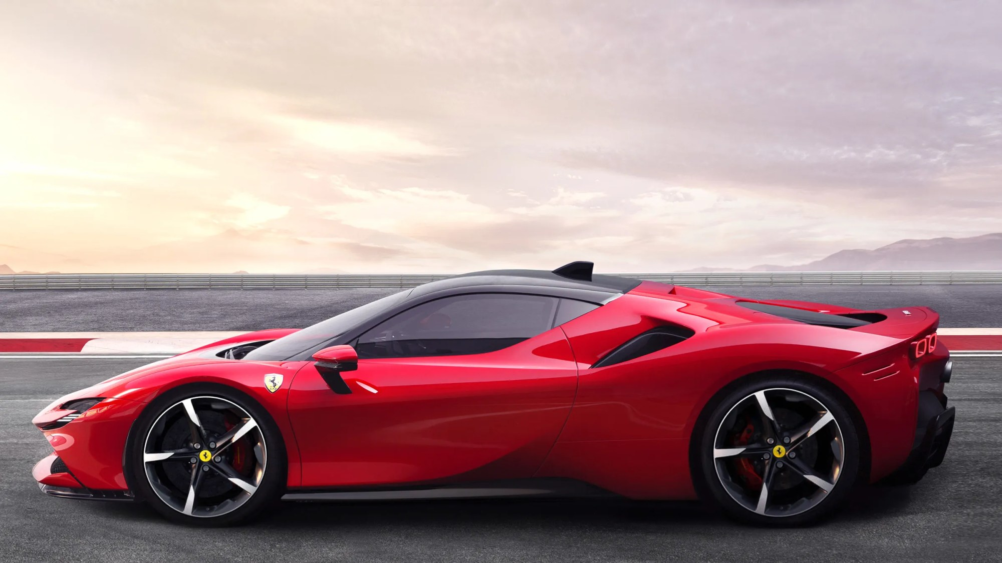 hight resolution of ferrari s latest goes 211 mph with 986 hp and it s a hybrid