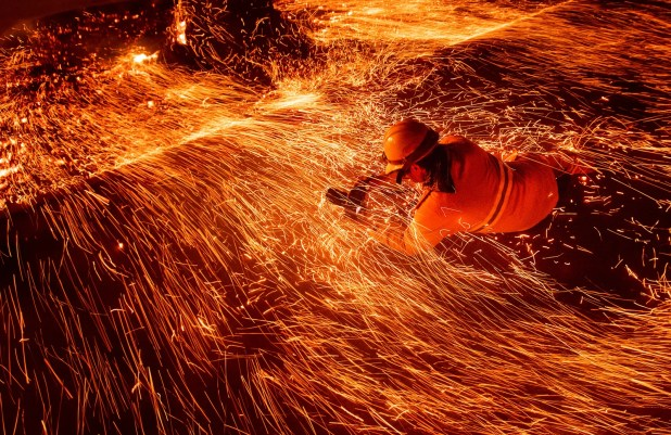 Gadgets: Noah Berger's images of California wildfires earned him a 2019 Pulitzer Prize nomination. Here he captures fellow...