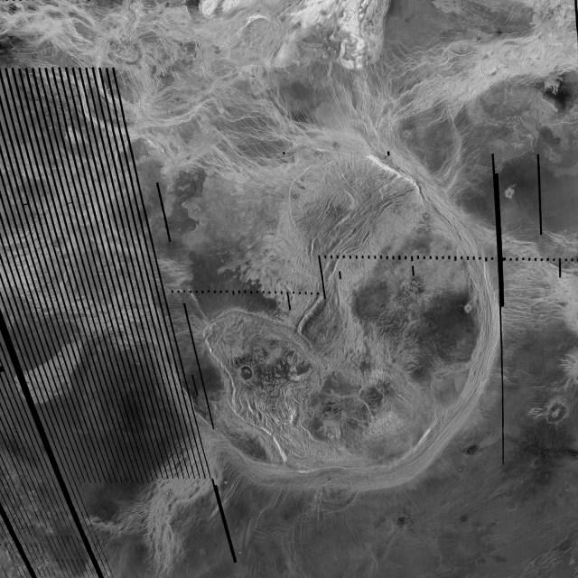 Venus surface corona
