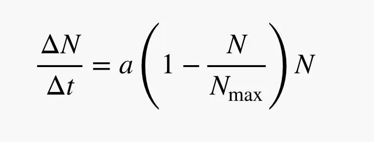 logistic curve formula