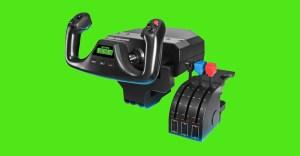 Top 5 HOTAS controllers for Microsoft Flight Simulator 2020: Logitech, Thrustmaster, PXN