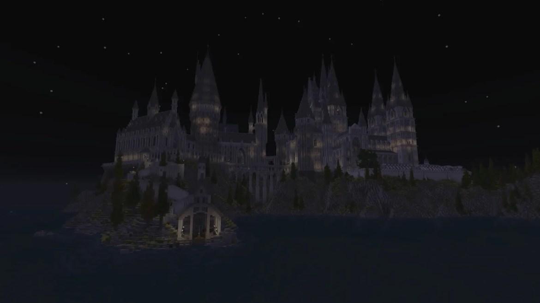 hogwarts in minecraft