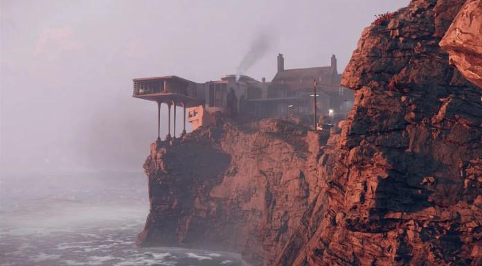cliffside mansion