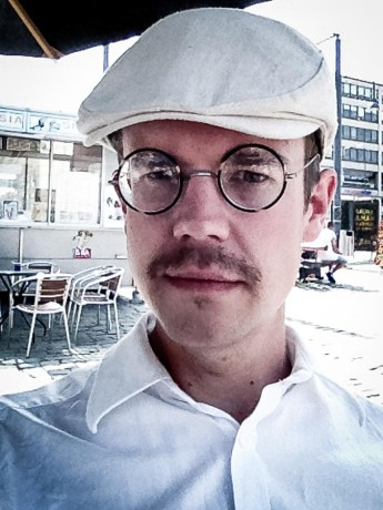 Jag hittade ett par fina glasögon på torgloppis i Vasa.
