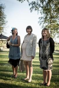 Lena, Ida och Jenny.