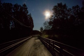 Bron över Lappo å.