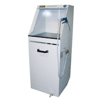 absorber cabinet with compressed air powered extraction ...