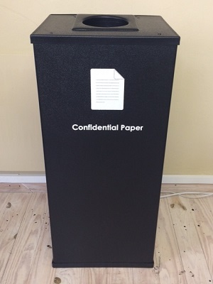 Postwink  Secure Bin for Confidential Paper