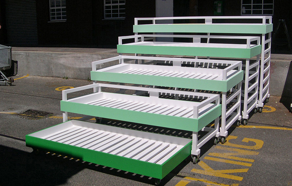 Nested Bunk Beds  Tsai Design Studio
