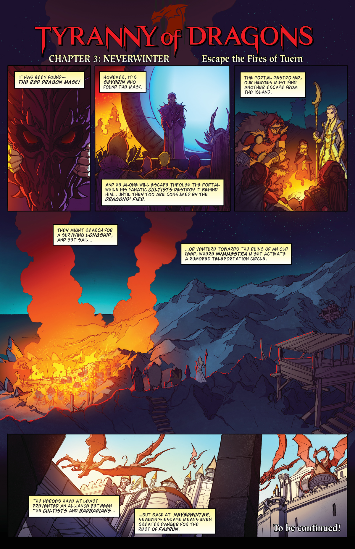 Neverwinter Tyranny Of Dragons : neverwinter, tyranny, dragons, Tyranny, Dragons:, Online, Comic, Dungeons, Dragons
