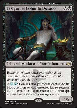 Tasigur, el Colmillo Dorado