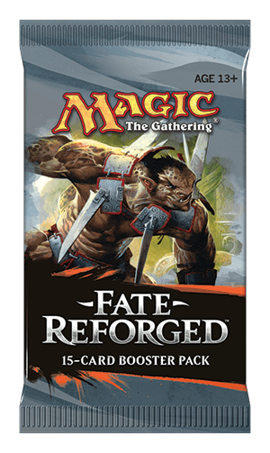 Fate Reforged Packaging MAGIC THE GATHERING