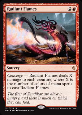 Radiant Flames