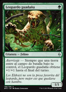 Leopardo guadaña