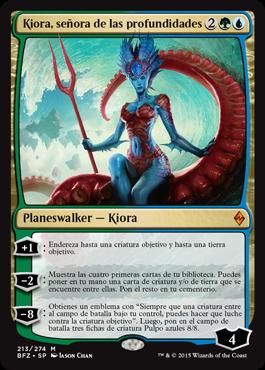 Kiora, señora de las profundidades