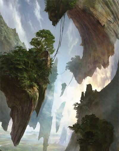 Sketches: Battle for Zendikar Basic Land Art | MAGIC: THE ...