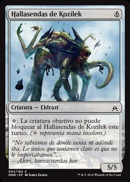 Hallasendas de Kozilek