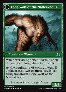 Lone Wolf of the Natterknolls