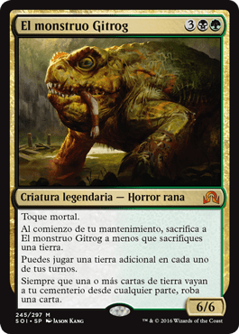 El monstruo Gitrog