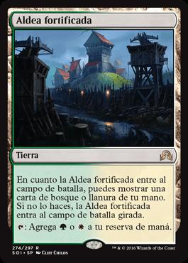 Aldea fortificada