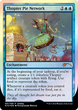 The November 21 2016 Update MAGIC THE GATHERING