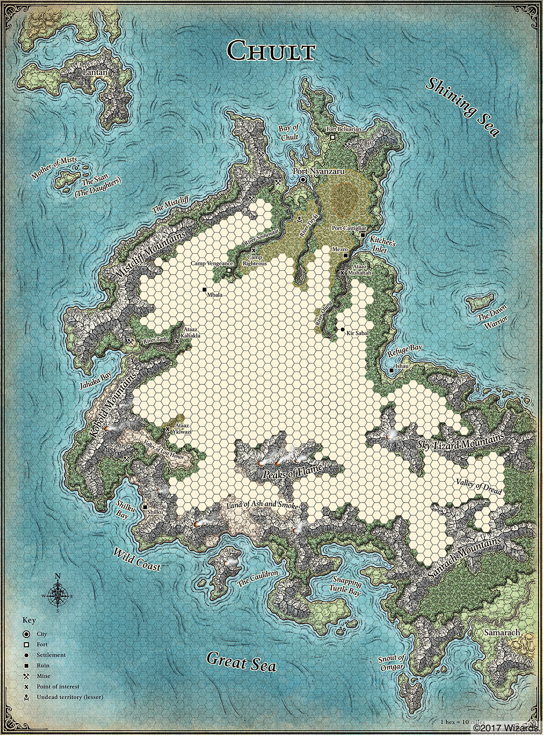D&D: Maps To The Tomb Of Annihilation - Bell of Lost Souls