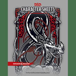 character sheets dungeons dragons