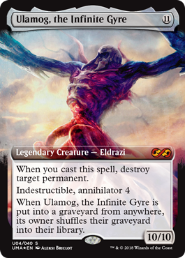 Ulamog, the Infinite Gyre Box Topper