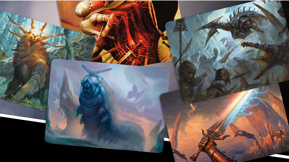 Cartas de arte de Magic The Gathering