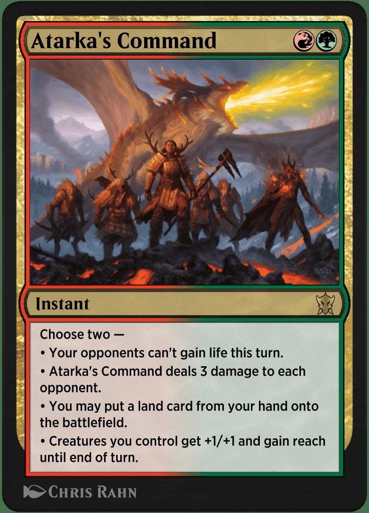 Atarka's Command card image
