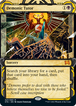 Mystical Archive Demonic Tutor
