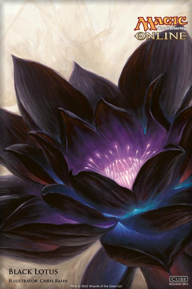 Black Lotus Magic Gathering Card