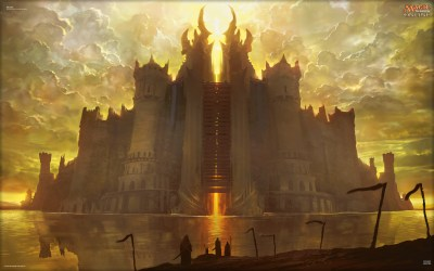 moat magic wallpapers wizards gathering card arcana archive play
