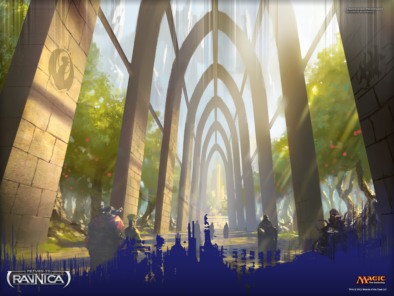 Hd Supreme Wallpaper Iphone X Mtg Realm Return To Ravnica Wallpapers
