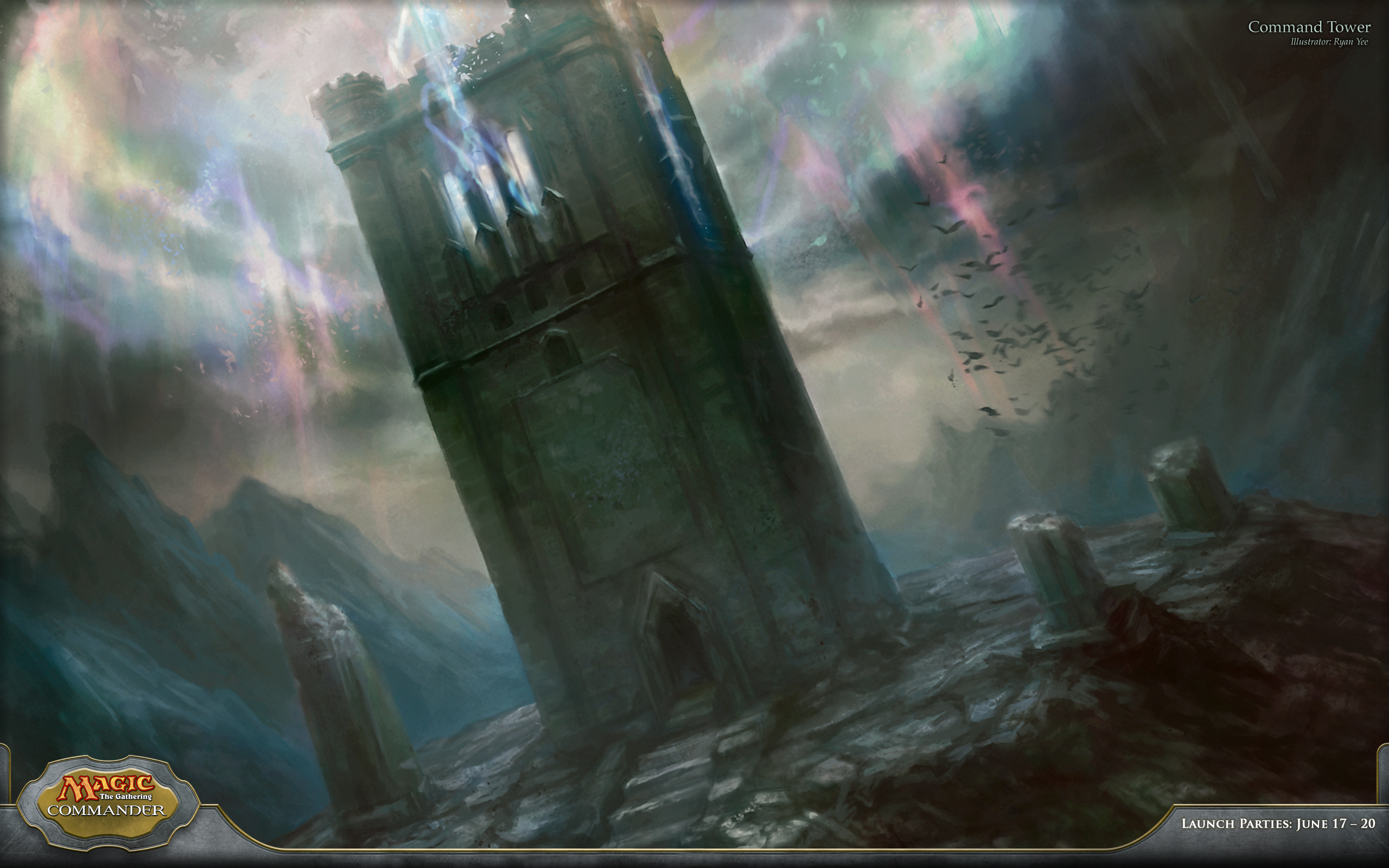 Mtg Iphone Wallpaper Wallpaper Of The Week Command Tower Magic The Gathering