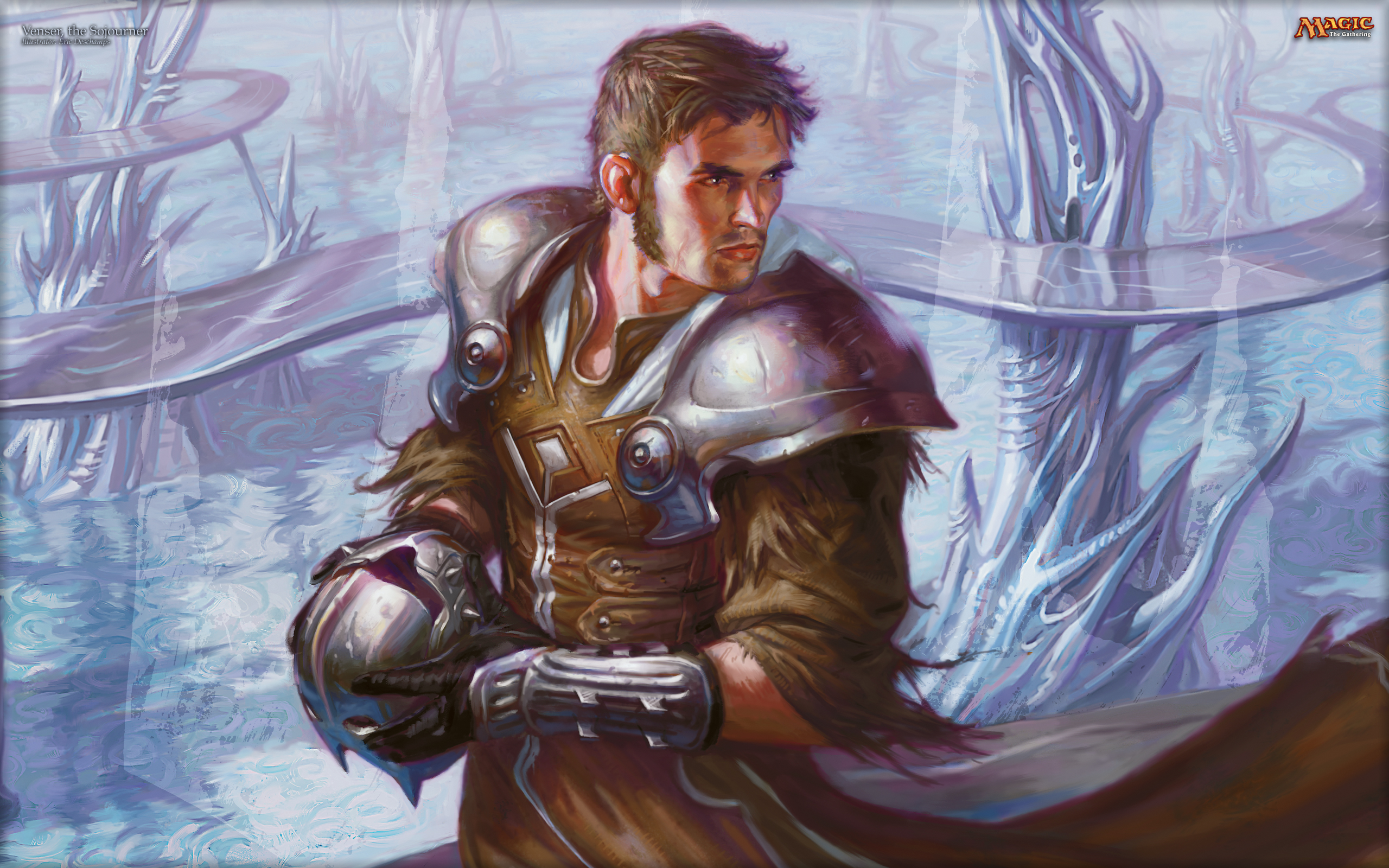 Mtg Iphone Wallpaper Wallpaper Of The Week Venser The Sojourner Magic The