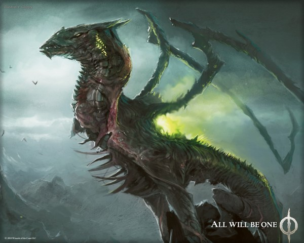 MTG Dragon Art